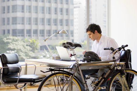 Bicicleta y trabajo