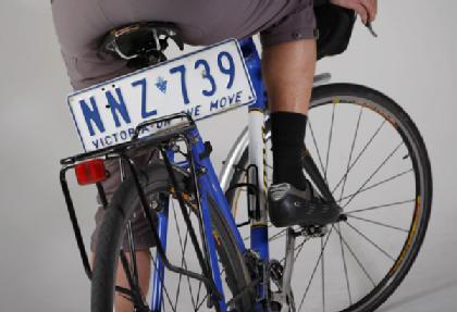 matricula bicicleta