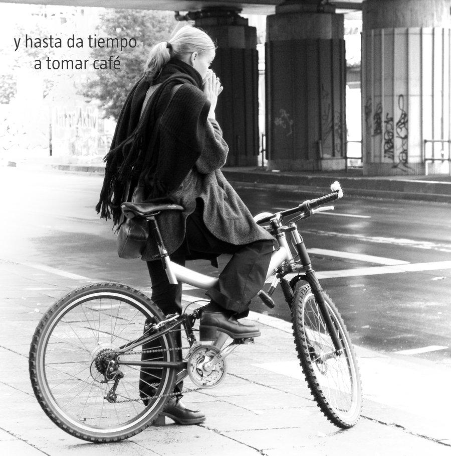 bici al trabajo absentismo laboral