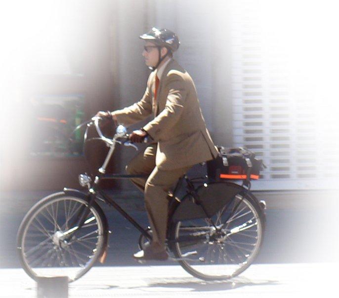 trabajo en bici