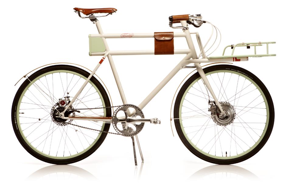 Faraday Bikes side